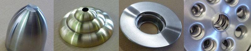 metal spun forms